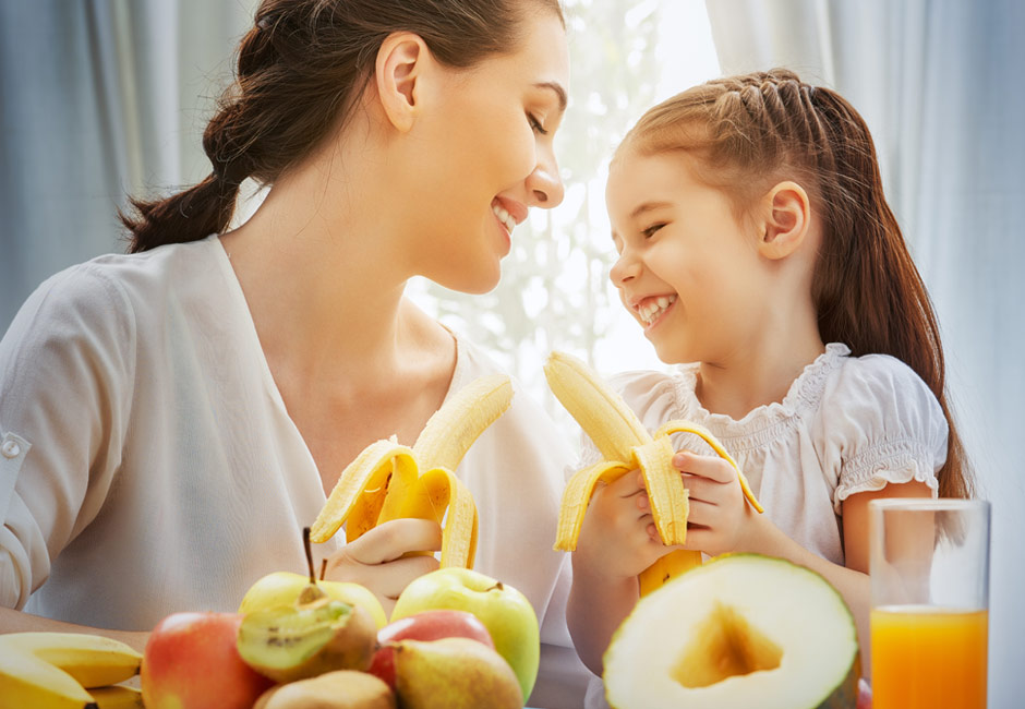 5 modi per convincere i bambini a mangiare più frutta e verdura