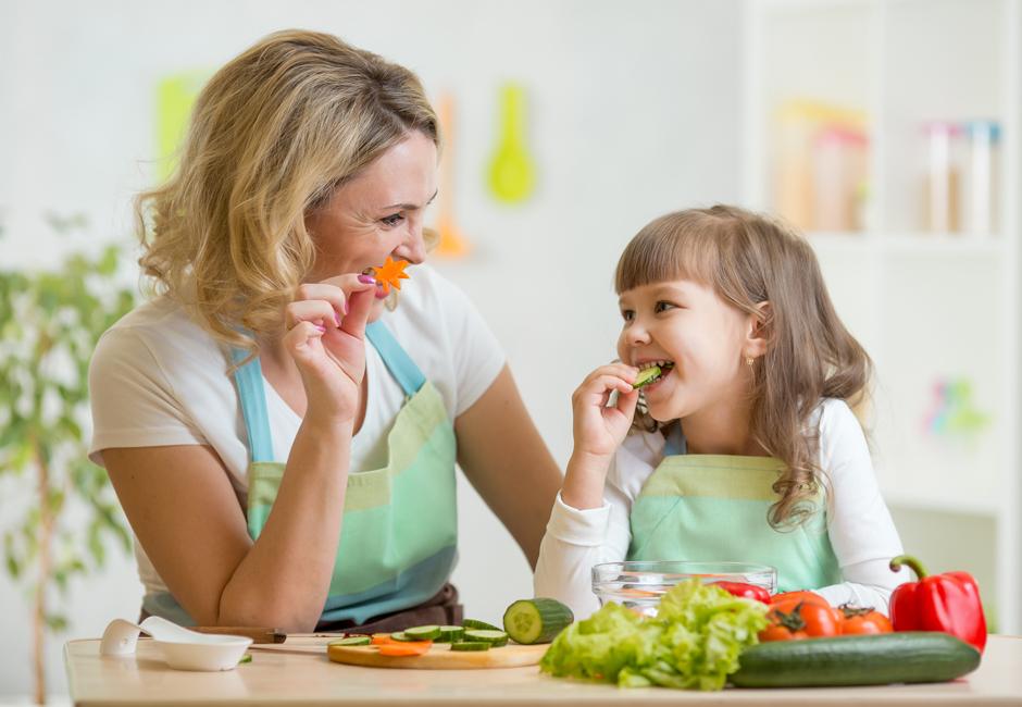 Consigli per un'alimentazione sana per i bambini