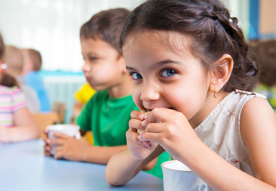 Come preparare una merenda salutare per i bambini