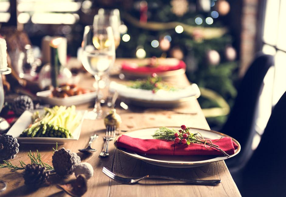 Alimentazione corretta durante le feste natalizie