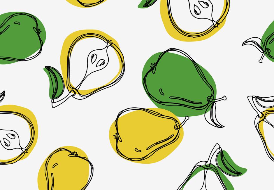 Quando la pera diventa arte!