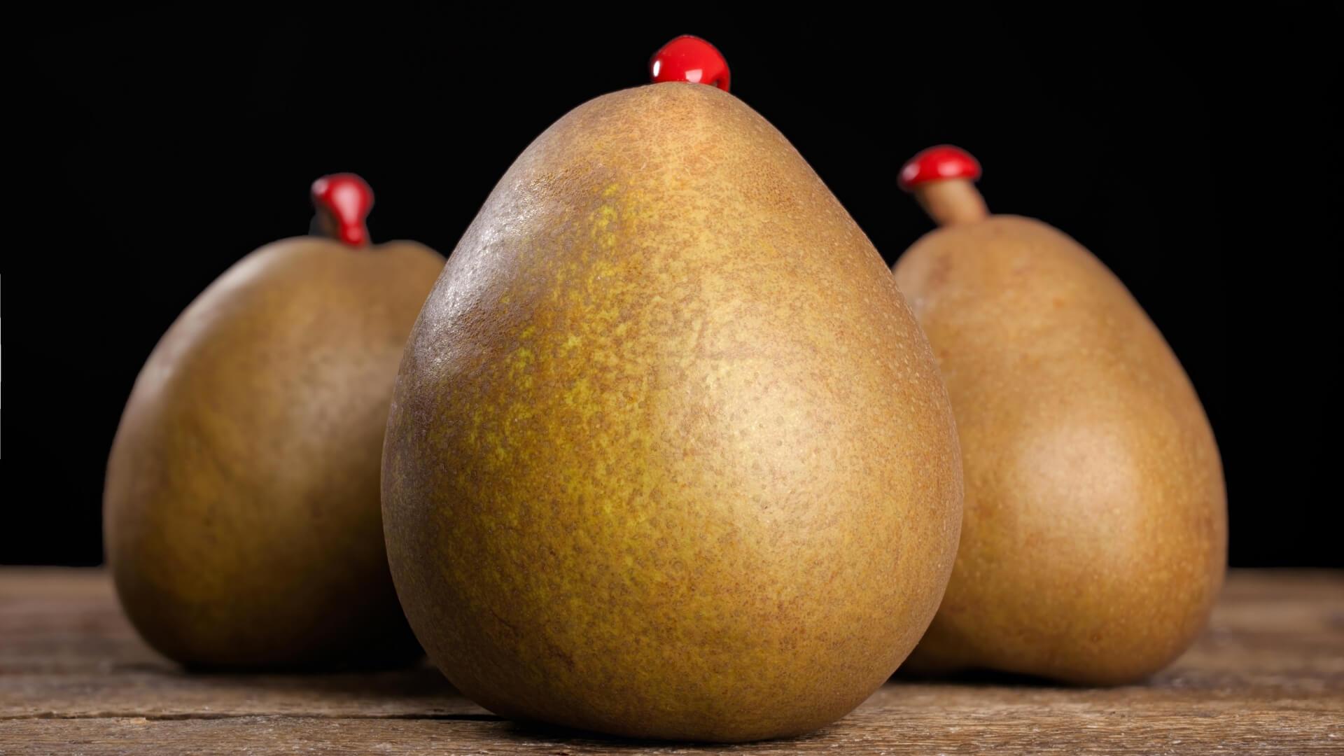 Picciolo della pera con ceralacca: motivo e origine