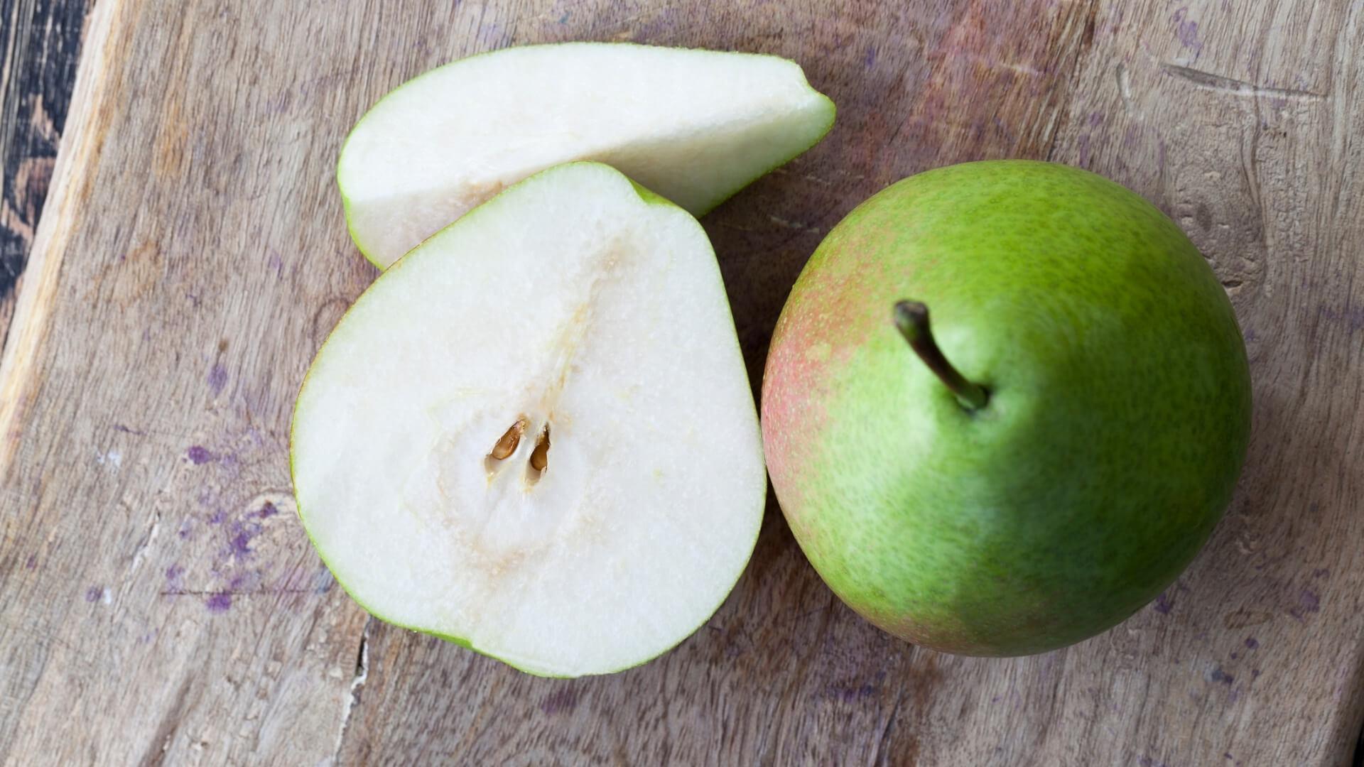 Zuccheri contenuti nella pera