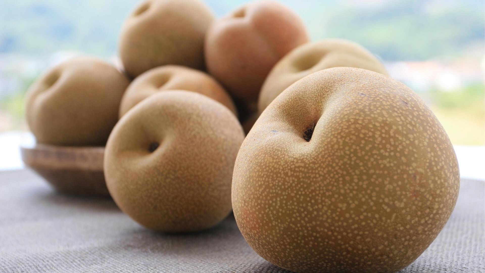 Pera Nashi, la pera dell'Oriente simile a una mela