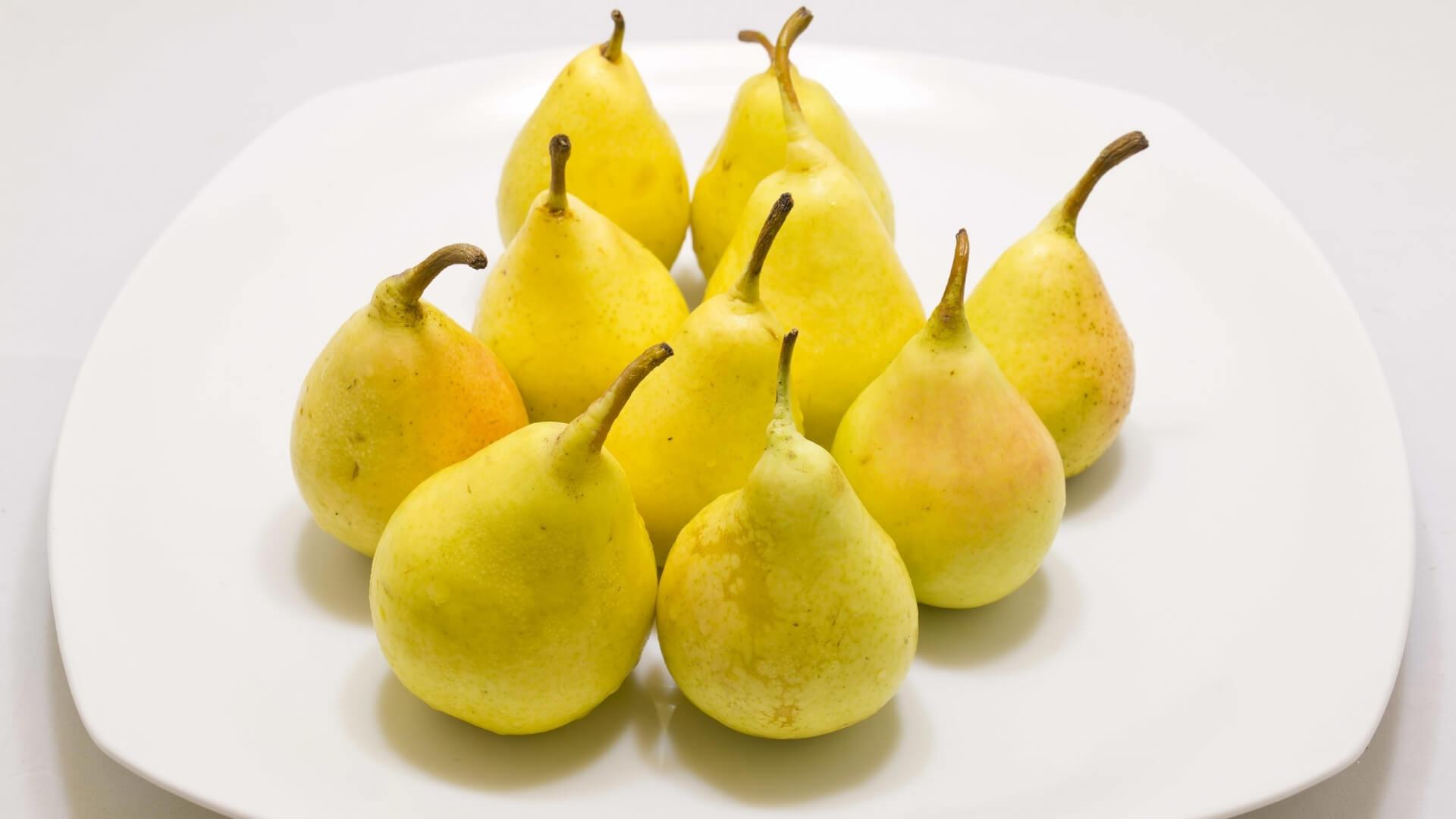 Pera coscia, la pera estiva tipica del Sud Italia