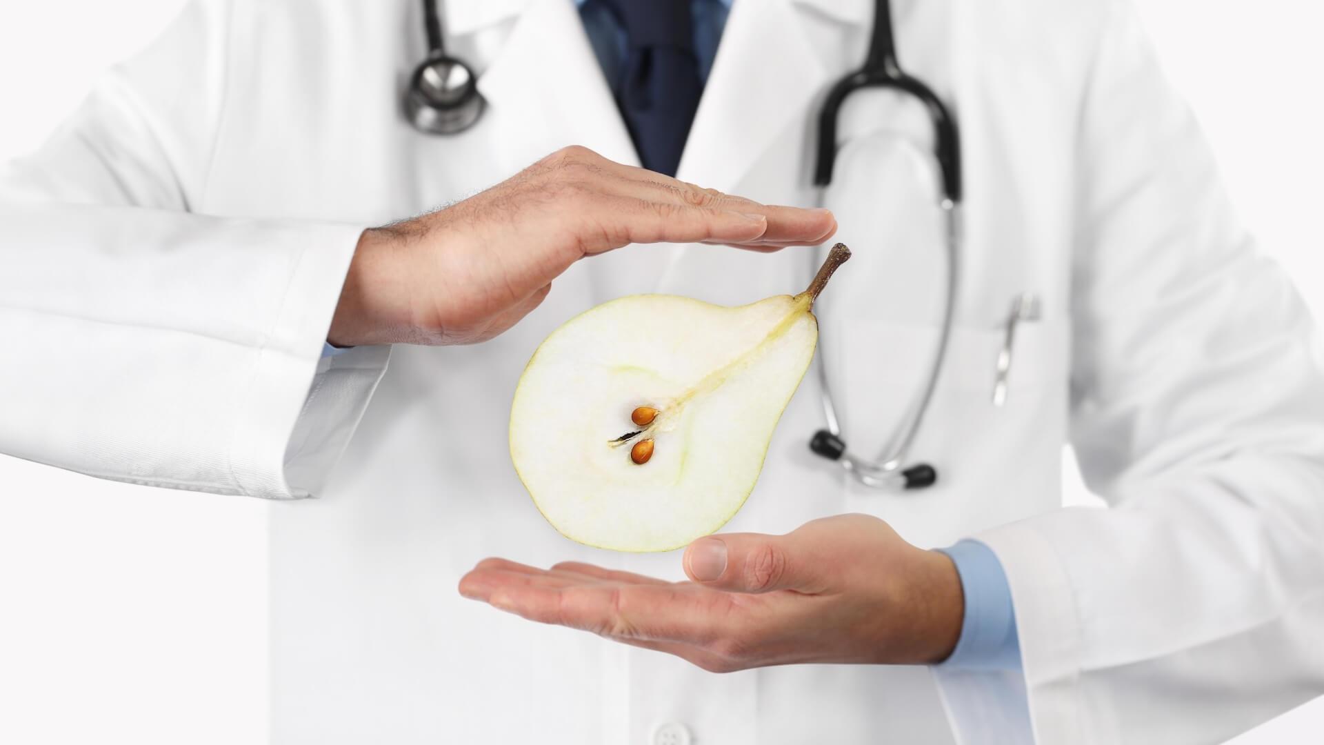 Pere e diabete: si possono mangiare?