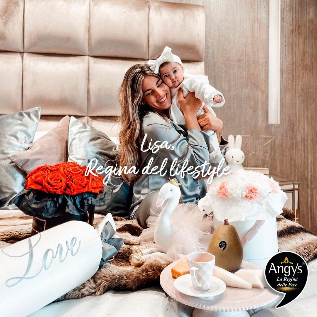 pera Angys regina del lifestyle - Lisa Di Maria
