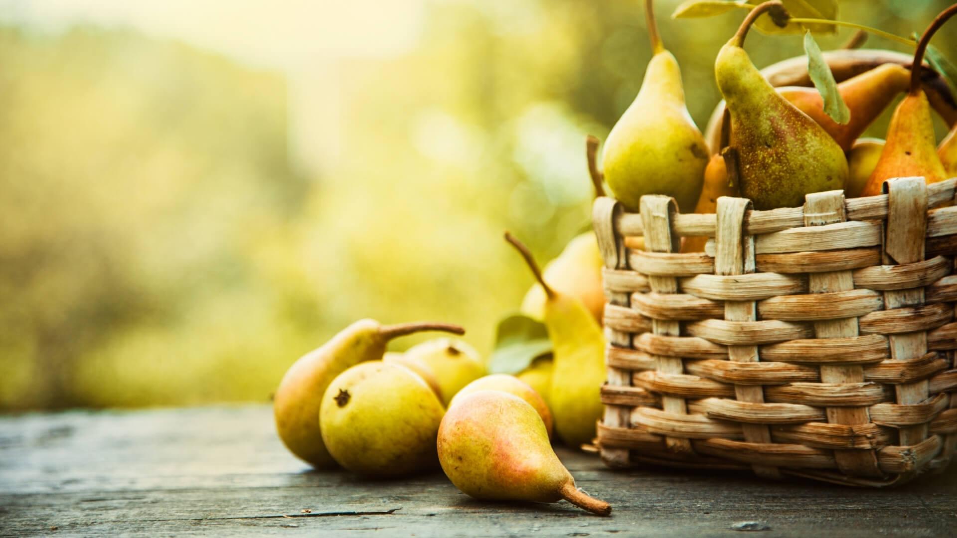 Quali sono le pere più dolci? E quali le pere più croccanti?