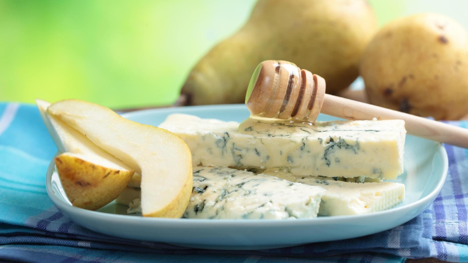 Abbinamenti con le pere: pere e formaggio