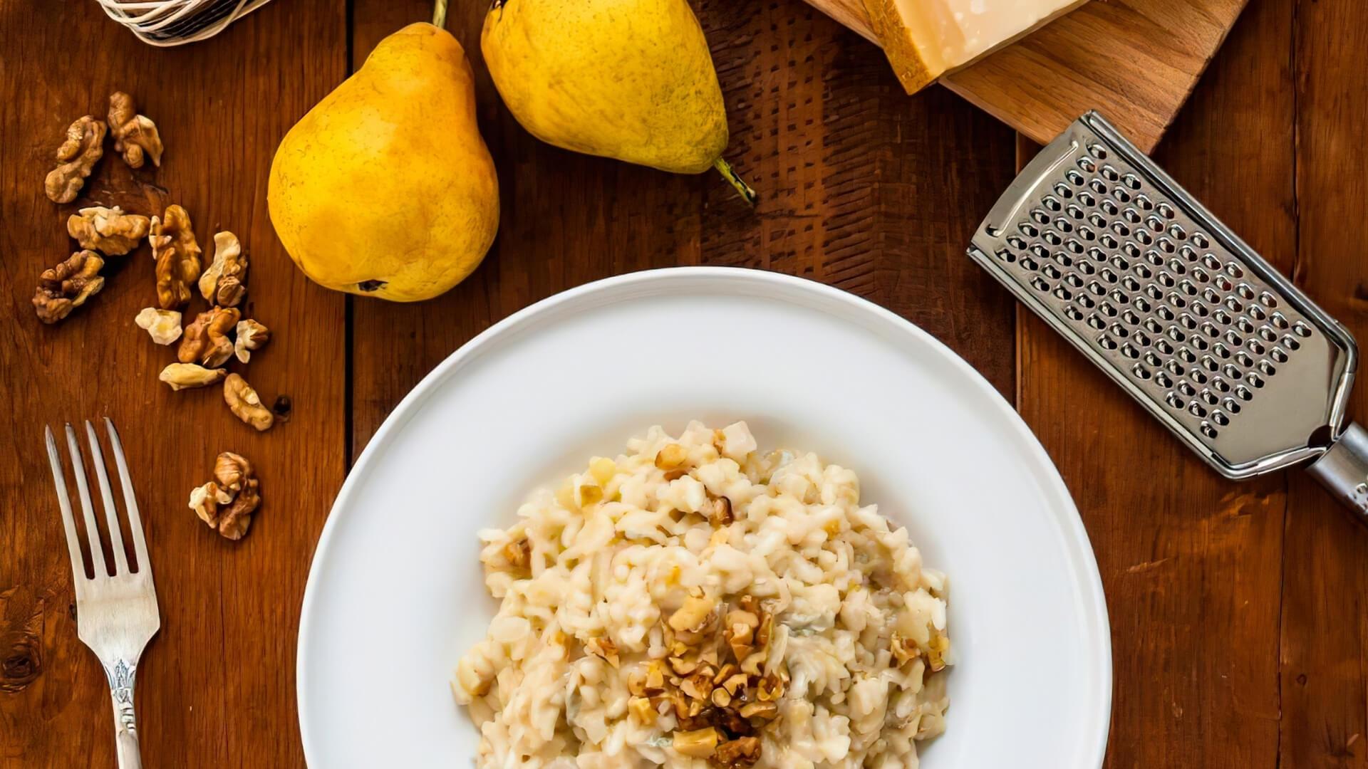tipo di pera per il risotto alle pere