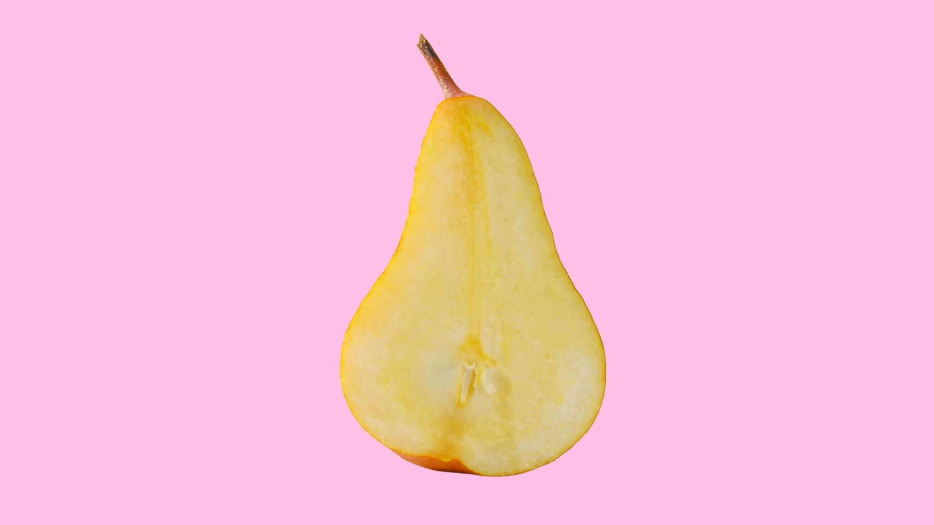 sezione di una pera