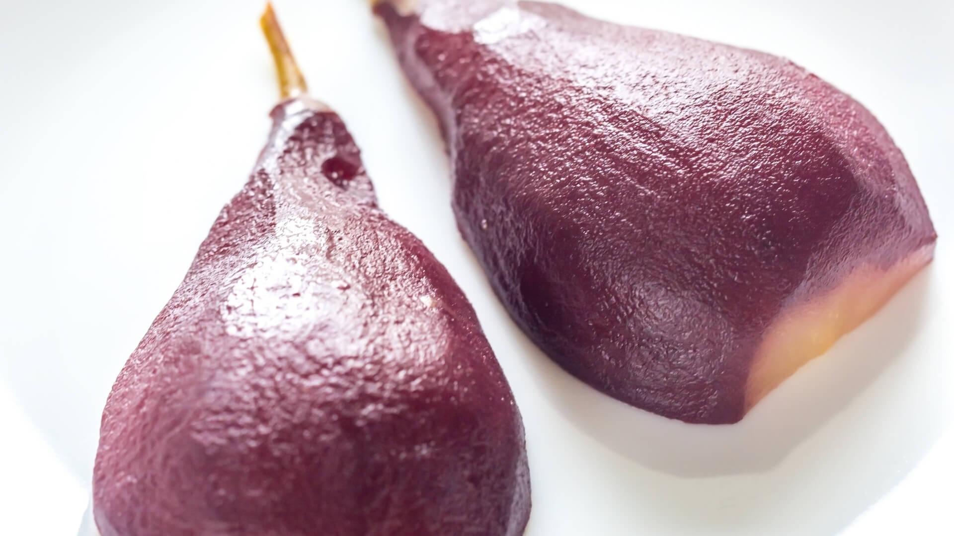 pera martin sec cotta al vino rosso