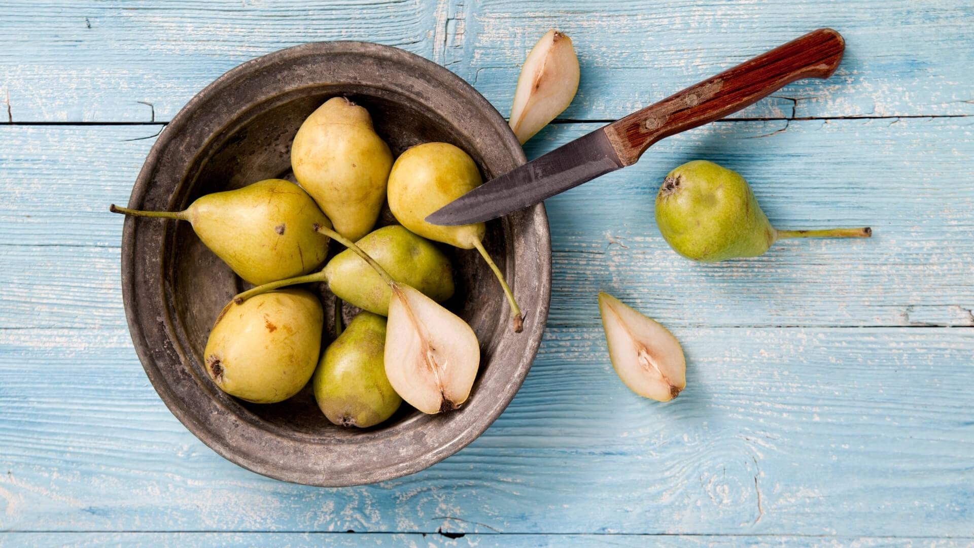 Pera Nobile, la pera emiliana da cuocere con le castagne